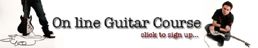 Online Guitar Course: Information Request Form