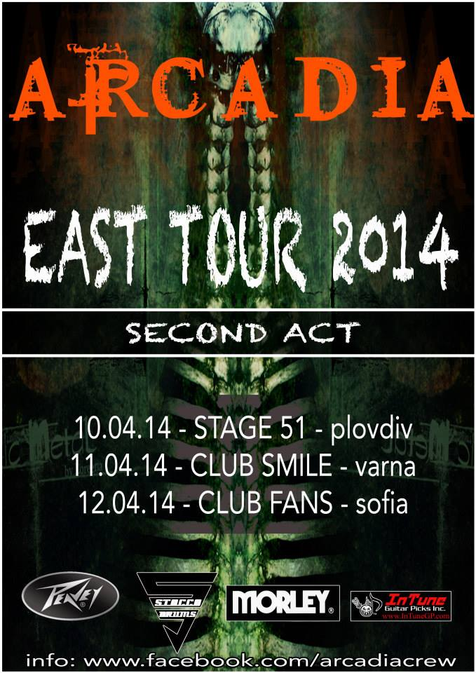 EAST TOUR (Second Act): April 10/11/12, 2014