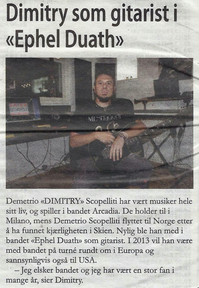 Grenland local Avisa (Norwegian Newspaper) - December 18, 2012